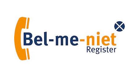 Bel Met Niet Register