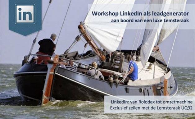 LinkedIn + Zeilen